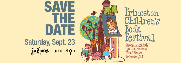 The Princeton Children's Book Festival banner